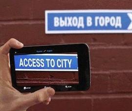 Dịch văn bản bằng camera và không cần internet