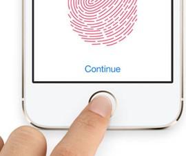 Khắc phục các lỗi cảm ứng trên Touch ID