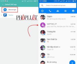 Facebook Messenger cho phép gửi tin nhắn SMS trên Android
