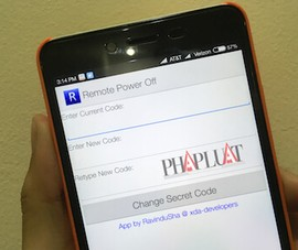 Hướng dẫn tắt smartphone từ xa bằng tin nhắn SMS