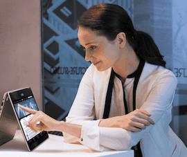 Thiết bị có khả năng biến hình thành laptop hoặc tablet