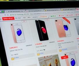 Coi chừng bị lừa vì iPhone 7 giá 2,6 triệu đồng