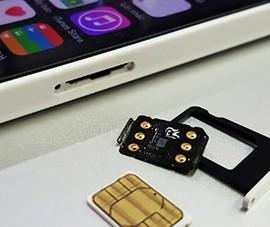 Cách kích hoạt iPhone Lock bằng SIM ghép