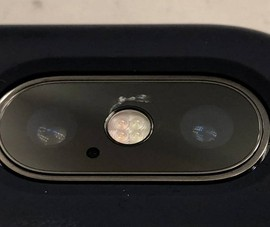 iPhone X bất ngờ liên tục bị nứt mặt kính camera