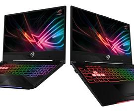 Asus ra mắt 2 mẫu laptop gaming viền mỏng