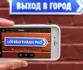 Cách dịch văn bản sang tiếng Việt bằng camera