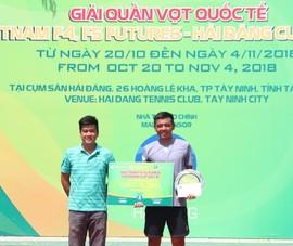 Lý Hoàng Nam tấn công vào tốp 400 tay vợt mạnh nhất thế giới