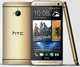 HTC One phiên bản màu vàng giống iPhone 5S trình làng