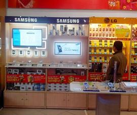 Thế Giới Di Động cho khách hàng trải nghiệm smartphone Samsung