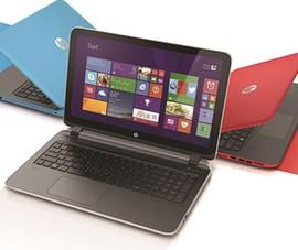 Dòng laptop giải trí HP Pavillion 2014 có giá từ 12 triệu đồng