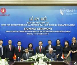Vingroup và SMU hợp tác nâng cao năng lực quản trị