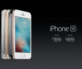 Giá bán và cấu hình của iPhone SE cùng iPad Pro 9.7 inch