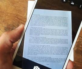 2 cách scan tài liệu bằng điện thoại