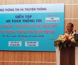Năm 2018 Việt Nam ghi nhận gần 400 triệu cuộc tấn công mạng
