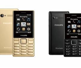 Philips ra mắt mẫu điện thoại phổ thông đa tính năng