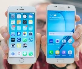 iPhone 6S tỏ ra vượt trội hơn Galaxy S7 về độ bền