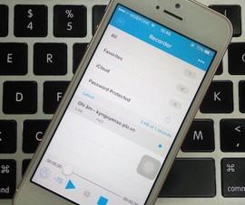 Mẹo ghi âm cuộc gọi cấp tốc trên iPhone