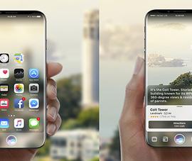 Lộ diện hình ảnh phiên bản iPhone X tuyệt đẹp