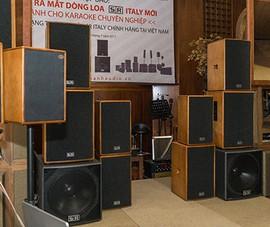 Ra mắt dòng loa karaoke chuyên nghiệp đến từ Ý