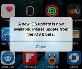 Tắt tính năng tự động cập nhật iOS trên iPhone