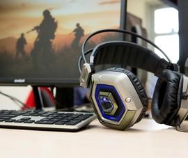 Cận cảnh tai nghe giá rẻ AH-327 dành cho game thủ