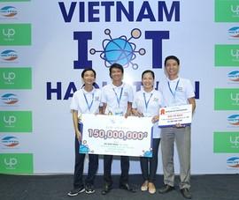 ĐH Lạc Hồng giành vô địch Vietnam IoT Hackathon 2017