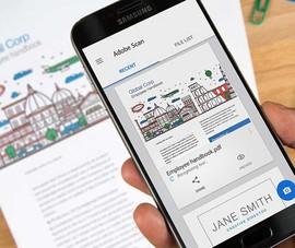 Ứng dụng biến smartphone thành máy quét di động