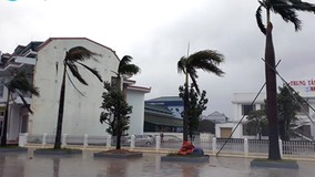Clip: Những hình ảnh từ 'tâm bão' Hà Tĩnh