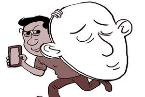 Cạo đầu để dễ đi trộm