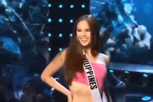 Điệu catwalk độc đáo của Hoa hậu Philippines gây sốt