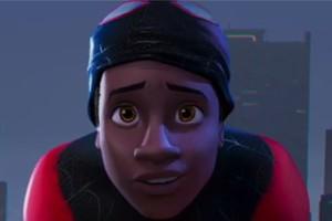 Người nhện da màu lần đầu xuất hiện trên màn ảnh