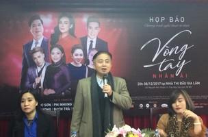 Ca sĩ Ngọc Sơn, Phi Nhung hát để giúp người nghèo