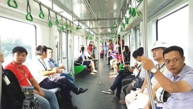 Đang vận hành thử tuyến metro đầu tiên của Việt Nam