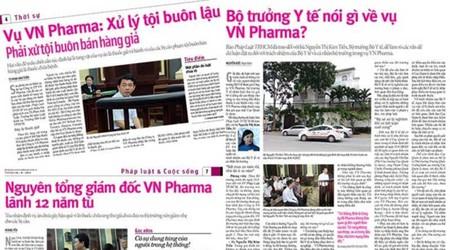 Khoảng tối vụ VN Pharma sẽ được bóc trần
