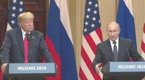 Hai ông Trump-Putin chỉ họp báo, không có tuyên bố chung