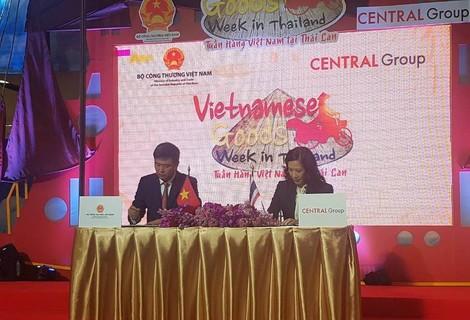 Đại gia bán lẻ Thái Lan phân phối nông sản Việt