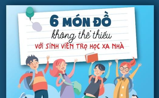 6 món đồ không thể thiếu với sinh viên trọ học xa nhà