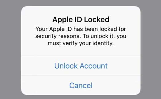 Cách mở lại Apple ID khi bị khóa