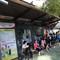 Cận cảnh nhà chờ xe buýt kiểu mới hiện đại ở Sài Gòn