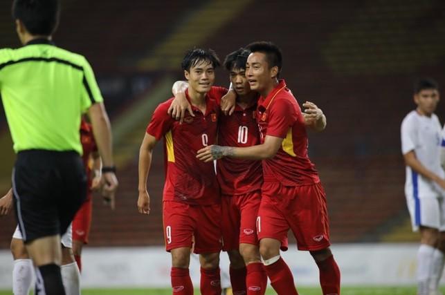 U-22 Việt Nam thắng U-22 Philippines 4 - 0