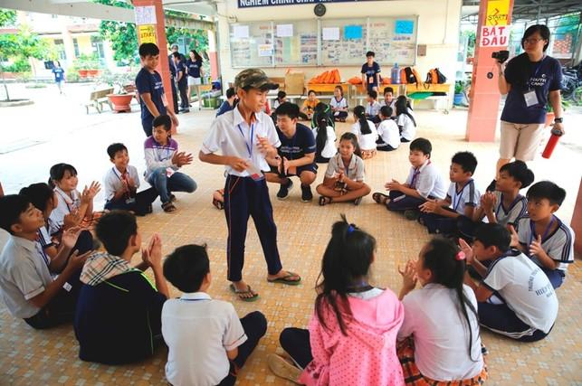 Hội trại tiếng Anh Nam Sài Gòn 2017
