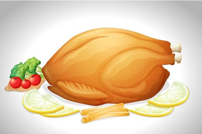 Những bộ phận trên gà nên tránh khi ăn
