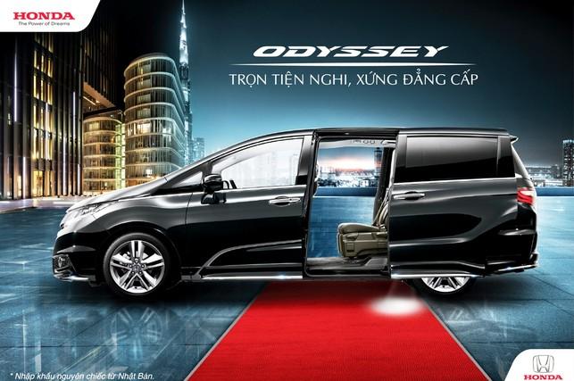 """Honda Odyssey 2017 """"Trọn tiện nghi, xứng đẳng cấp"""""""