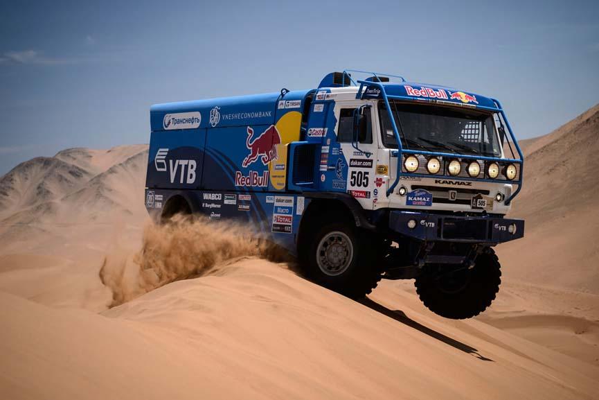 Huyền thoại Kamaz của Dakar Rally chia tay giải