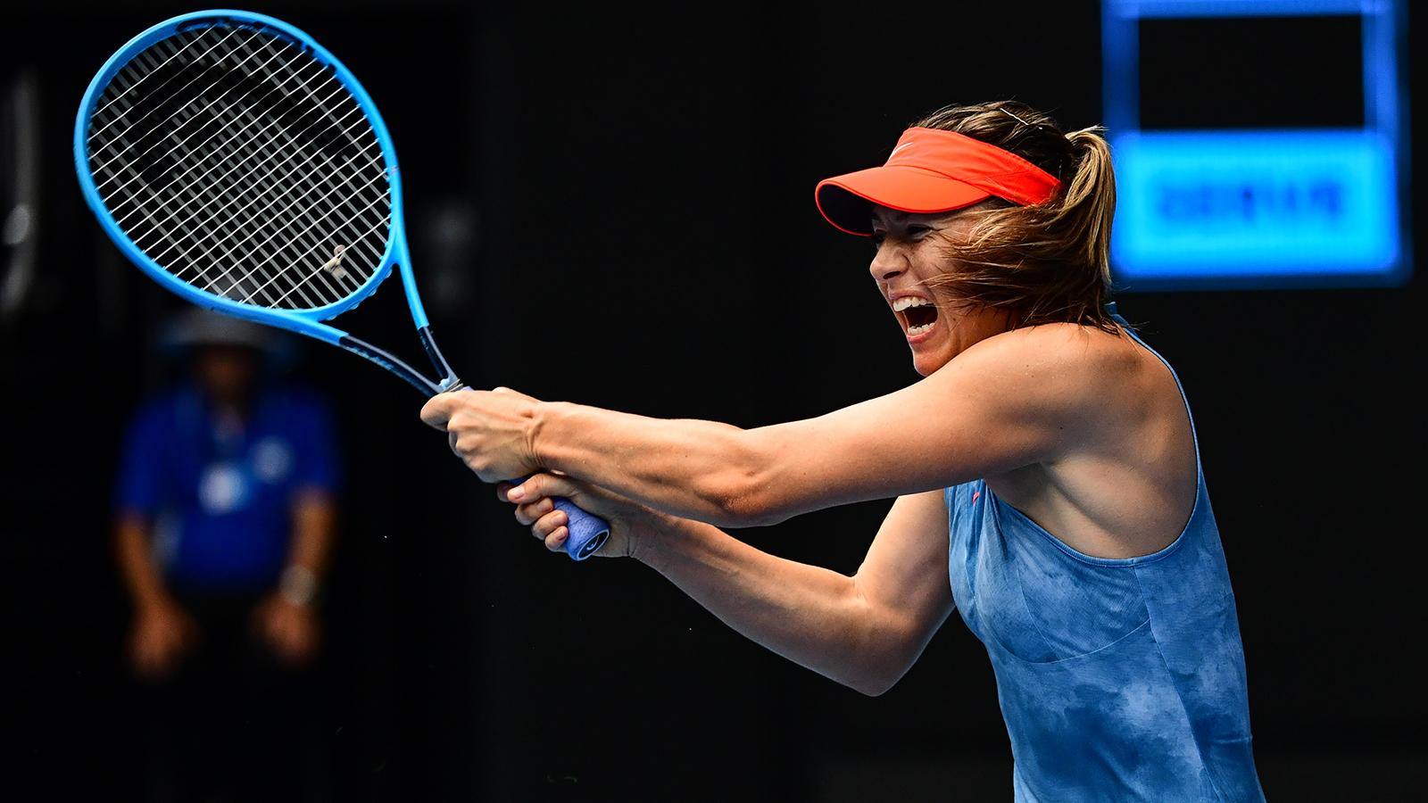 Sharapova ''hung hãn'' loại đương kim vô địch Úc mở rộng