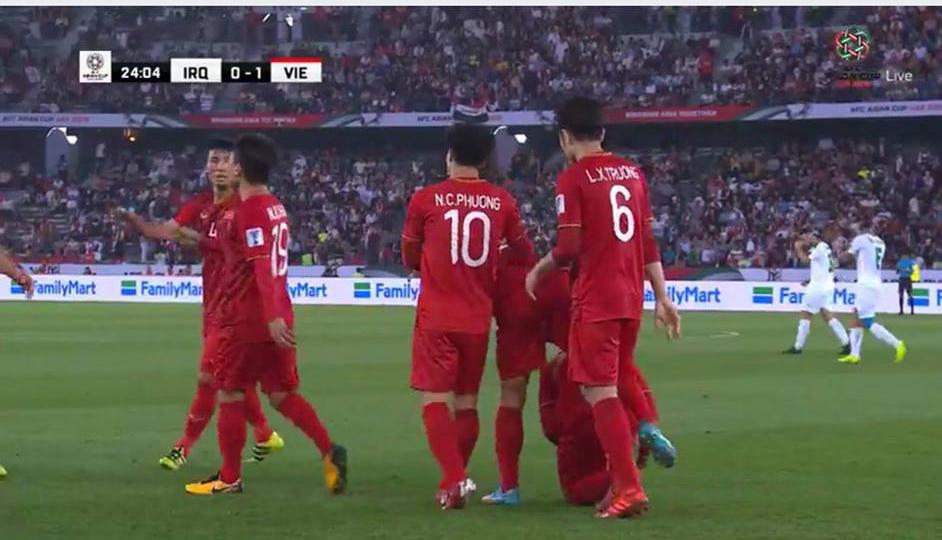 Trực tiếp, Việt Nam 1-1 Iraq: Sai lầm của Duy Mạnh (H1)