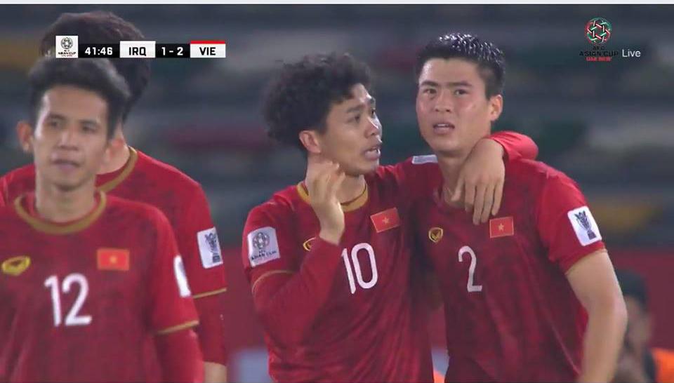 Trực tiếp, Việt Nam 2-1 Iraq: Bùng nổ với Công Phượng (KT H1)