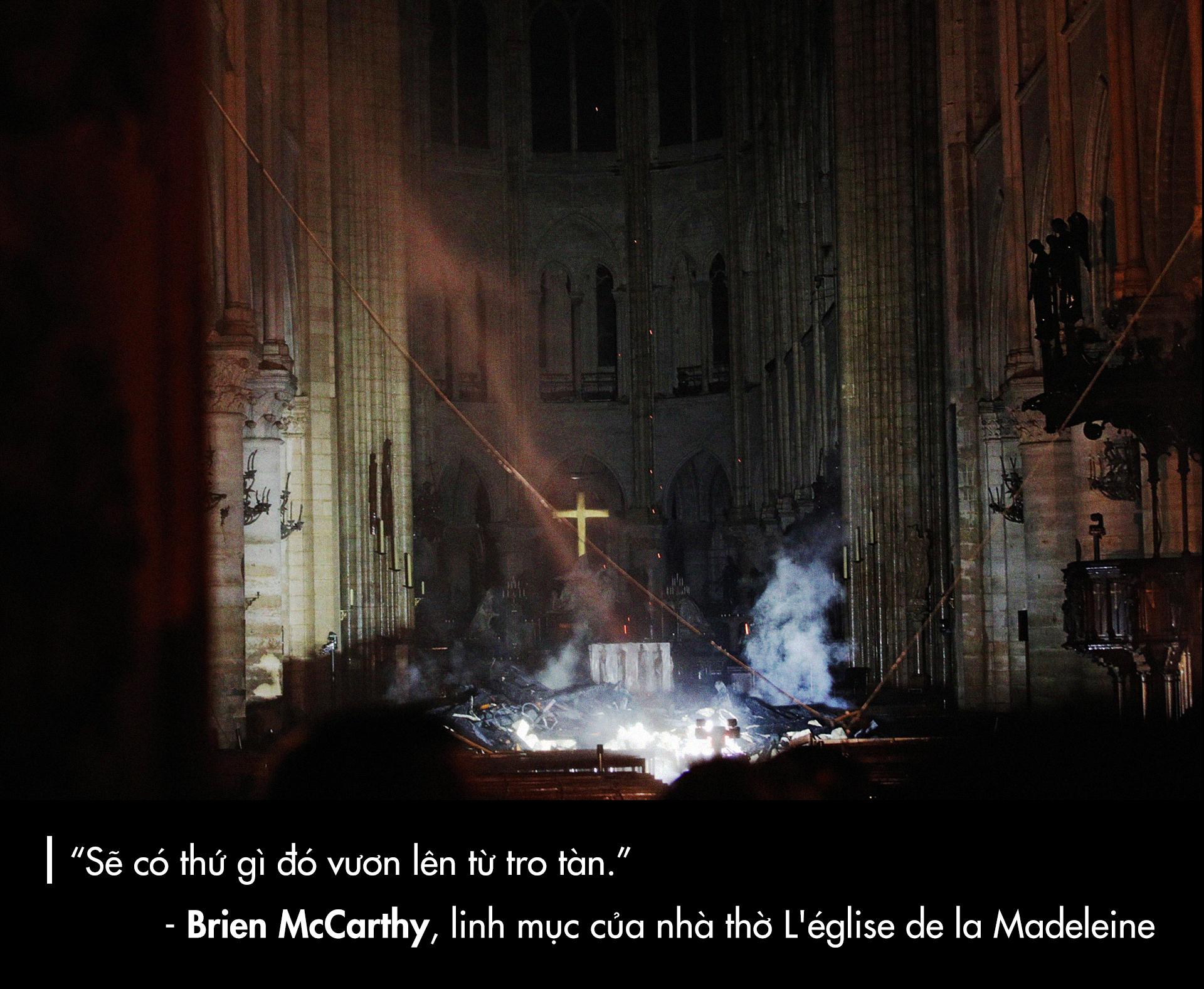 Nhà thờ Đức Bà Paris: Từ tro tàn đến hi vọng - ảnh 14