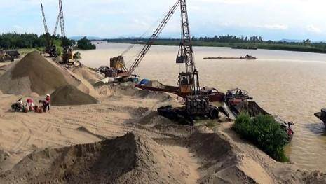 TP.HCM kiểm tra cát làm vật liệu xây dựng - ảnh 1