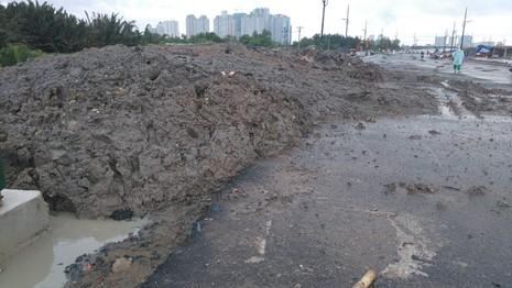 Dự án của Công ty Đại Quang Minh bị đổ trộm chất thải - ảnh 1